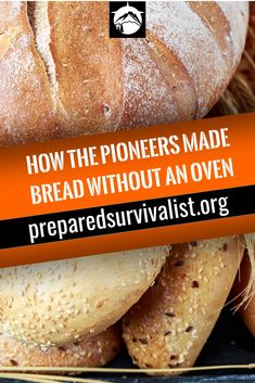 What do you do when you are a pioneer without the luxury of an oven and want to eat bread. Simple You make bread without an oven and instead you use a frying pan or even a stick. We'll share with you 3 different recipes to make your own bread without need Survival Food, Survival Prepping, Wilderness Survival, Survival Skills, Bushcraft Skills, Survival Hacks, Outdoor Survival, Emergency Preparedness, Fire Cooking