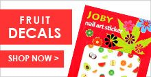 Our fruit nail sticker designs are fun, funky, and fresh. Fruit Nail Art, Animal Nail Art, Nail Art Stickers, Decals, Nails, Summer, Fun, Finger Nails, Tags