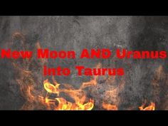 New Moon in Taurus AND Uranus into Taurus - Paradigm Shift