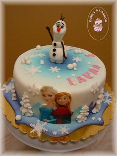 Dětské dorty :: Radka - Dorty s láskou Projects To Try, Frozen, Birthday Cake, Cakes, Disney, Desserts, Food, Decorating Cakes, Tailgate Desserts