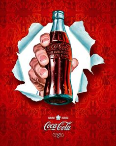 "Pop Art Calendar designed by RockAndRoll Agency features ""visual samples"" from the iconic Coca-Cola calendars of the – viacoca-cola-art…. Coca Cola Vintage, Pin Up Vintage, Pub Vintage, Vintage Signs, Vintage Images, Coca Cola Poster, Coca Cola Ad, Always Coca Cola, Richard Hamilton"