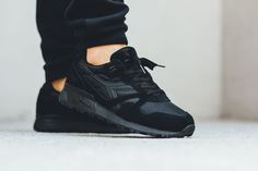 "Diadora N9000 Nylon ""Triple Black"""