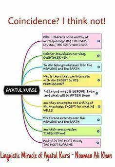 Linguistic miracle of Ayatul Kursi-Nouman Ali Khan.Allah is the Greatest Islamic Quotes, Islamic Teachings, Muslim Quotes, Islamic Inspirational Quotes, Religious Quotes, Islamic Msg, Islamic Status, Islamic Phrases, Islam Religion