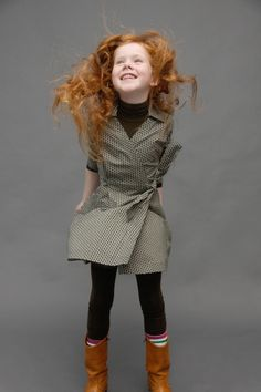 Kik-kid - even though this dress is for kids, i must figure out how to make one for myself * LOVE*