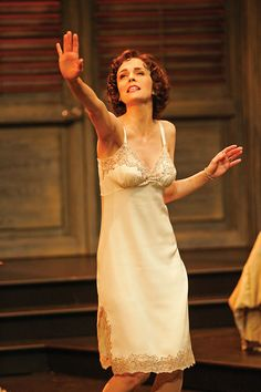 Cynthia Dale, the multi-talented Canadian film, TV & stage actress who generously guided me through my fictional stage production and helped me get my details right. Here she is in 2005 at the Stratford Shakespeare Festival as Maggie in Cat on a Hot Tin Roof.