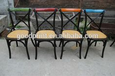 Chinese antique industrial dining chair