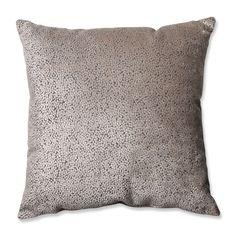 Tuscany Dots Flax Cut Floor Pillow