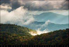 Blue Ridge Parkway Autumn Morning | by Dave Allen Photography