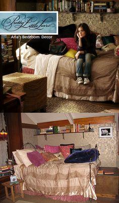 Pretty Little Liars Aria's Room decor