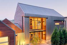 Tolle Dächer - Giebeldach als Akzent in modernen Häusern - http://wohnideenn.de/architektur/09/tolle-dacher.html