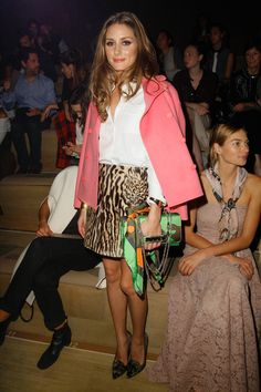 Olivia Palermo in Valentino Runway SS14