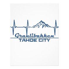 #Granlibakken  -  Tahoe City - California Letterhead - #office #gifts #giftideas #business