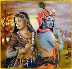 Krishna  दिल है कदम्ब डाली और मुरली बज रही है इसमें राधा सज रही है  मन बन के राधा  जीवन सफल हो  काया सब मोह तज रही है ...