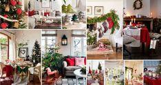 Προτάσεις - συνδυασμοί χριστουγεννιάτικης διακόσμησης με υφασμάτινα στοιχεία - λευκά είδη σε γιορτινά σχέδια Christmas Decorations, Table Decorations, Table Settings, Furniture, Home Decor, Decoration Home, Room Decor, Christmas Decor, Place Settings