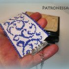 """Bracelet """"Blue hoarfrost"""" from japanese beads I Am Happy, Bracelet Making, Create Your Own, Coin Purse, This Or That Questions, Japanese, Beads, Bracelets, Handmade"""