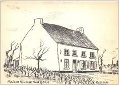 Cuesmes - Maison Vincent Van Gogh - Dessin de Pels