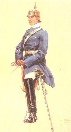 Sachsen Garde-Reiter-Regiment Army Uniform, Military Uniforms, Military Costumes, Honor Guard, German Uniforms, History Images, German Army, Military History, Military Fashion