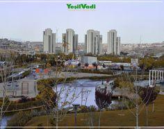 Türkiye'nin En Büyük Parkı YeşilVadi'de sonbahar manzarası #Sonbahar #YeşilVadi #Şahinbey