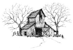 old barn clip art MEMES Pictures