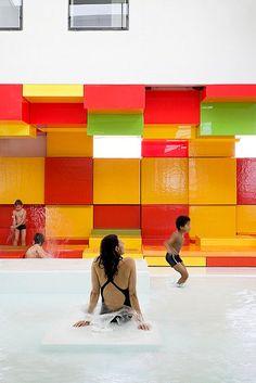 Les Bains Des Docks Aquatic Center 1 • TheCoolist - The Modern Design Lifestyle Magazine