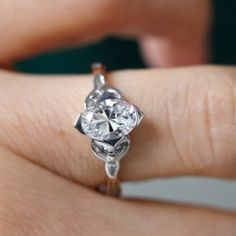 Diamond Celtic Inspired Rings Englewood Cliffs NJ | MaeVona