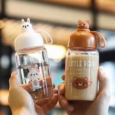Cute Water Bottles, Drink Bottles, Food Phone Cases, Japanese Snacks, Kawaii Accessories, Cute Cups, Cute Keychain, Kawaii Shop, Cute Food