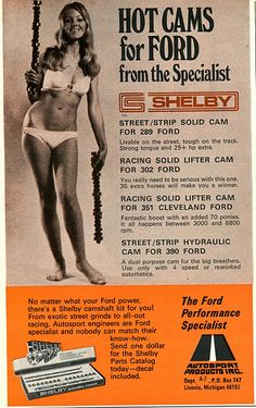 1971 Ford Cams Shelby Advertising Hot Rod Magazine July 1971 | Flickr - Photo Sharing!