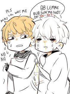 kumakichii:  Bye Tokyo Ghoul, Poor Children, Kaneki, Funny Posts, Otp, Chibi, Anime, Comics, Funny Messages