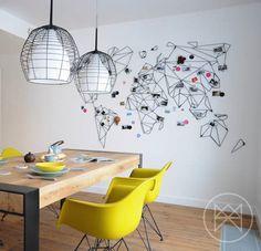 Planisphère mural