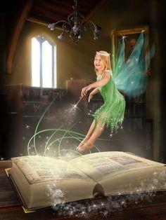 Fairy magic b Magical Creatures, Fantasy Creatures, Fairy Land, Fairy Tales, Fantasy World, Fantasy Art, Fantasy Fairies, Kobold, Love Fairy