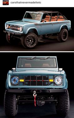 Ford Bronco Ford Bronco, Ford Motor Company, Custom Trucks, Jeep, Garage, Cars, Classic, Clothes, Carport Garage