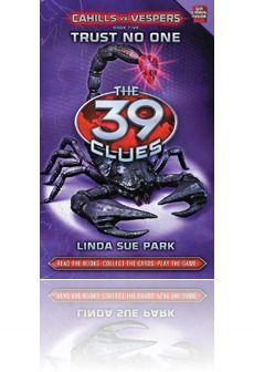 I think the first series, The 39 Clues, is suitable for 3rd grade and up but I would suggest the second series, The 39 Clues: Cahills vs Vespers as more 6th grade and up. from The Brain Lair. This is her favorite audio series. She is a Middle School Librarian.
