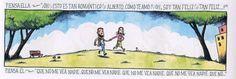 Liniers: Piensa ella - Piensa él
