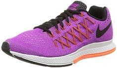 Nike Womens Air Zoom Pegasus 32 Vivis Purple/Black/Fchs Glow Running Shoe 7