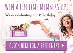 Anniversary Giveaway for a Free Lifetime Subscription!