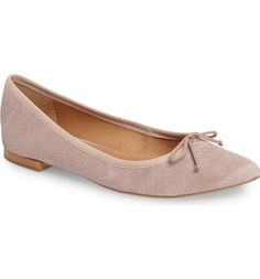 Main Image - Corso Como 'Recital' Pointy Toe Flat (Women)