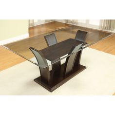 Furniture of America CM3710T Manhattan Dining Table at ATG Stores