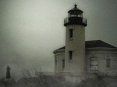Haunted Lighthouse: share ghost stories with your Halloween guests.