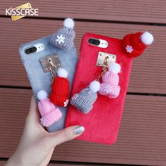 Case For iPhone 8 7 6S 6 Plus Cute Winter Warm Knitted Hat Cases Christmas Girly Hair Fur Plush Back Cover Accessories // iPhone Covers Online //   Price: $ 15.99 & FREE Shipping //   http://iphonecoversonline.com //   Whatsapp +918826444100    #iphonecoversonline #iphone6 #iphone5 #iphone4 #iphonecases #apple #iphonecase #iphonecovers #gadget #gadgets