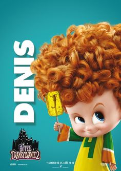 Hotel transylvania character posters   tags : dennis lol animation 3d sony