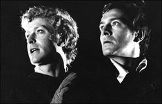Michael Caine as Horatio and Christopher Plummer as Hamlet.