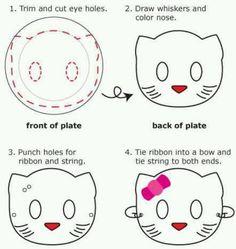 Hello kitty mask's