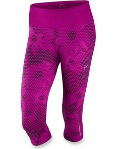 Nike Dri-Fit Epic Run Printed Capri Pants - Women's