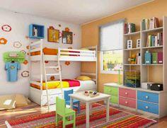 Cara menata kamar tidur sempit untuk anak