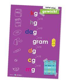 Classroom Board, Math Classroom, Learn Dutch, Arithmetic, School Hacks, Kids Learning, Spelling, Homeschool, Teacher