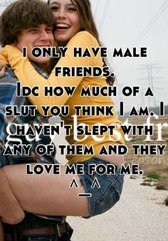 Male And Female Friendships Quotes