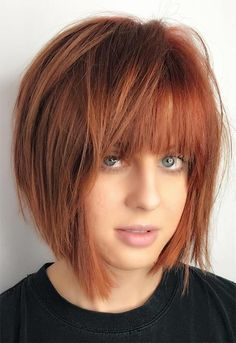 57 Flaming Copper Hair Color Ideas for Every Skin Tone- 57 Flaming Copper Hair Color Ideas for Every Skin Tone Copper Hair Color Shades: Copper Hair Dye Tips - Dyed Tips, Hair Dye Tips, Copper Hair Dye, Short Copper Hair, Copper Hair Colors, Hair Colours, Medium Hair Styles, Short Hair Styles, Hair Medium
