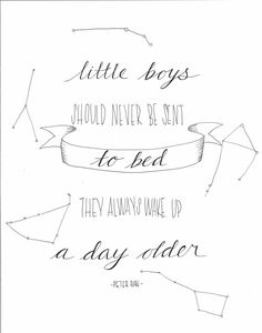 Peter Pan Quote PDF file