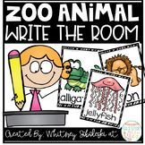 FREEBIE! Write the Room-Zoo Animal Themed! Students will love to get up and moving while they write new words