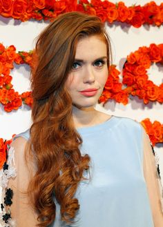 holland roden's hair is perfection